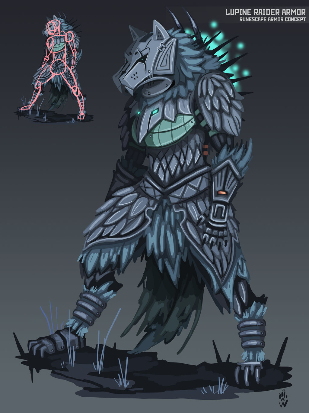 Concept Art On Official Runescape Deviantart