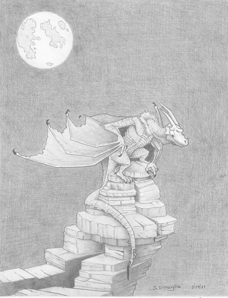 Necro Dragon by Dumegg