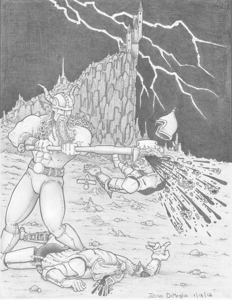 The Barbarian by Dumegg