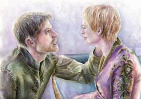 Jaime and Cersei by Opheliac98