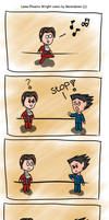 Phoenix Wright webcomic by Berendsnors-Fanart