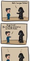 Phoenix vs Darth Vader by Berendsnors-Fanart