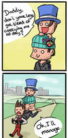 Carrying Trucy by Berendsnors-Fanart