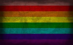 Original Rainbow Grunge Flag by Elthalen