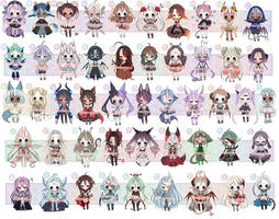 ADOPTS: 49 Mixed Batch [CLOSED] by Mewpyonadopts