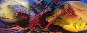 Flaking orbz by krigl