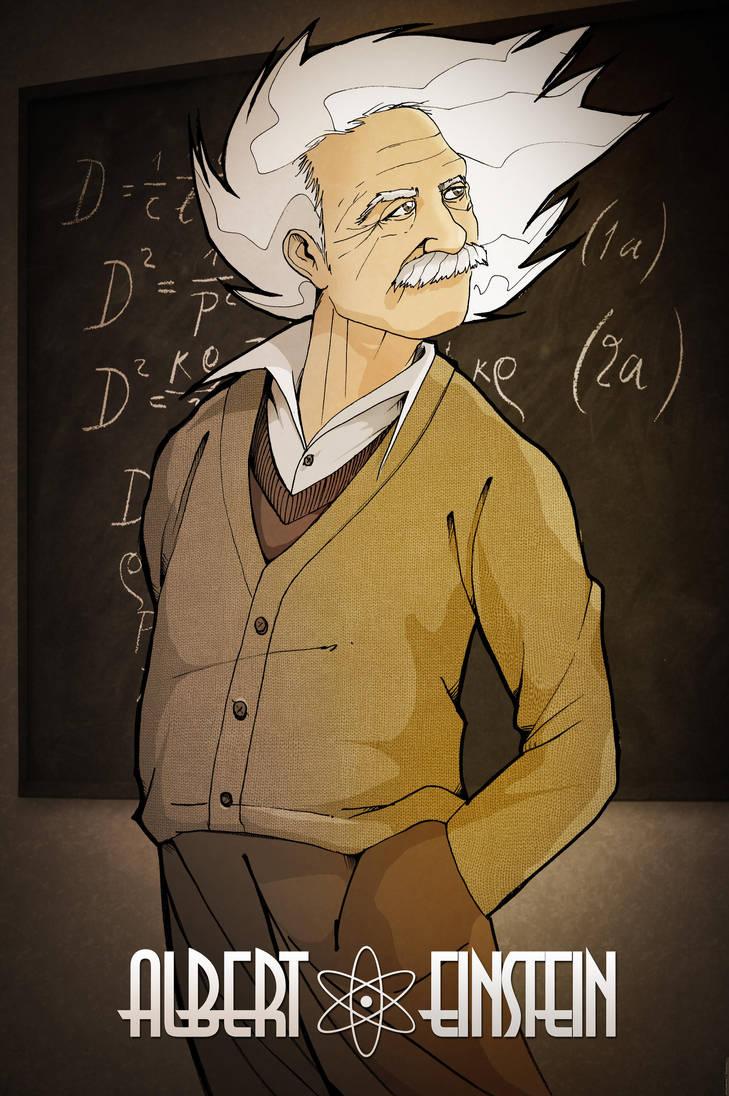 Albert Einstein by TheKangrejoman