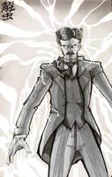 Nikola Tesla by TheKangrejoman