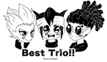 Best_Trio_Inazuma_Eleven by DarkJillMLP123