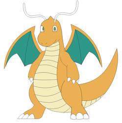 (Fan Art) Dragonite in Inafune Style by Alejandro10000