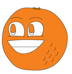 (Fan Art) Annoying Orange in Inafune Style by Alejandro10000