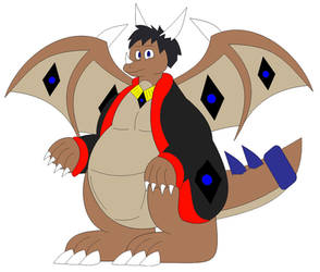 (Gift) Kangy the Dragonroo in Inafune Style by Alejandro10000