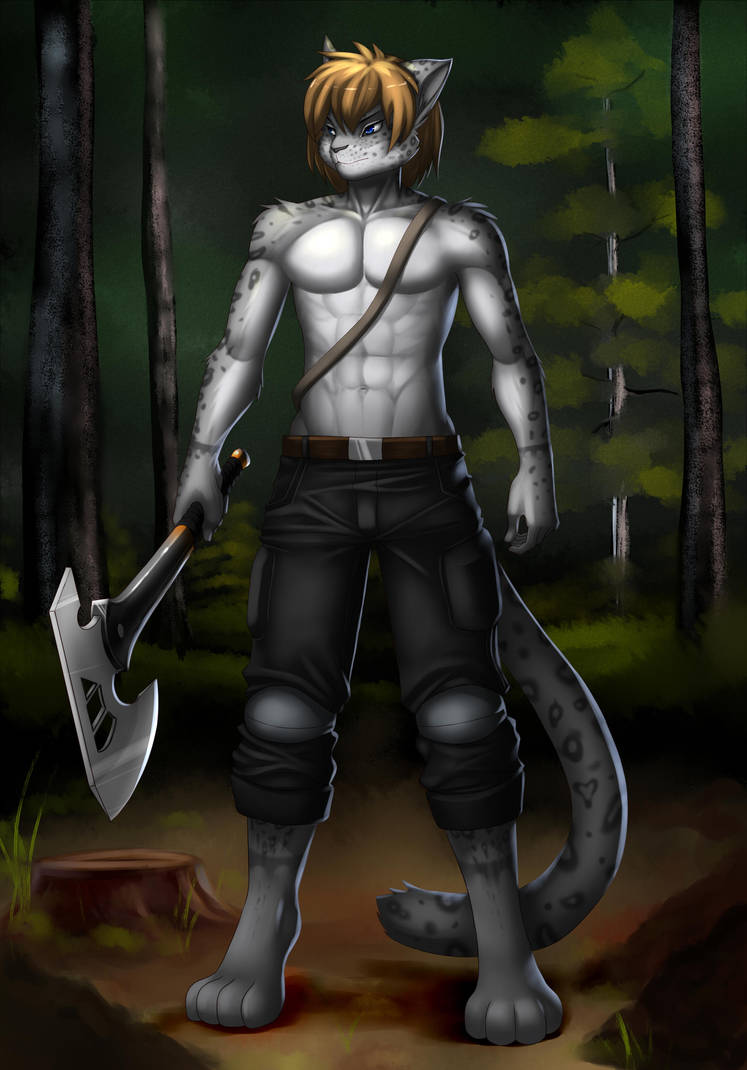 Snep in the woods (Comission) by philian199