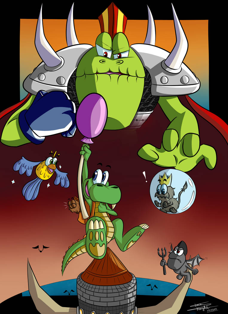 To the funky inferno! - Croc 20th anniversary by ClaraKnight