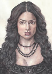 Mary Sibley (Janet Montgomery) by AnnaGray