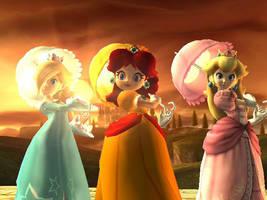 Three Little Princesses by PortalMasterDan64