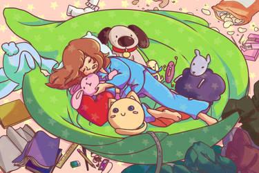 Sleeping Nest by Hakiru