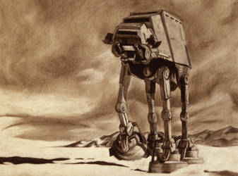 AT-AT by kalessaradan