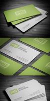 Modern Business Card by FlowPixel