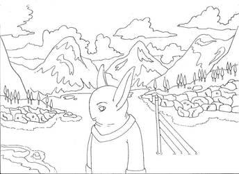 my landscape by milkjunkie
