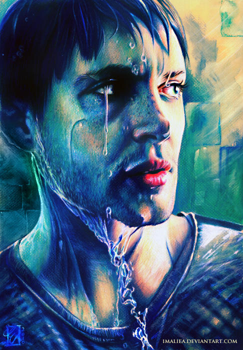 Jensen Ackles - Colourgasmic by Imaliea