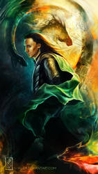 Loki: I am the monster by Imaliea