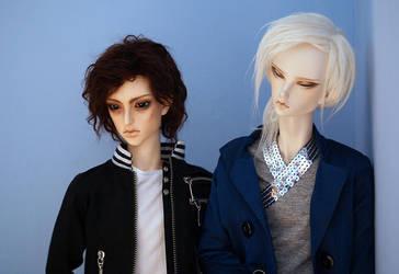 disapproval boys by DedraStarling