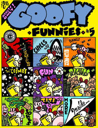 Goofy Funnies 5 - Colour Cover by dextercockburn