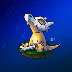 Cubone by ShadowMaginis