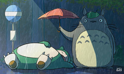 My Neighbor Snorlax by ShadowMaginis