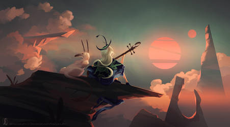 The Little Bard by Nastya-Lehn