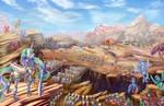 Celestia's Army by viwrastupr