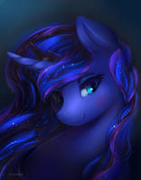 Luna - Official Royal Portrait by viwrastupr