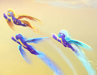 Wonderbolts Close up by viwrastupr