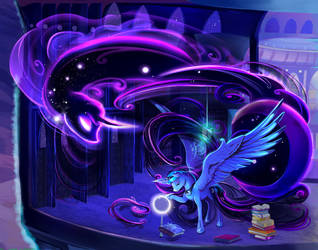 Princess Luna - Full by viwrastupr