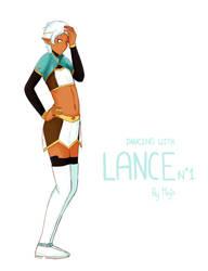 VLD altean Lance by sandychi