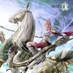 Final Fantasy XIII - Lightning by Cheesecakezz