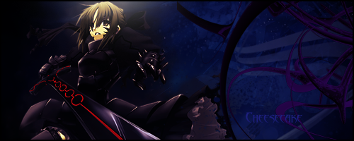 Fate Stay Night Signature by Cheesecakezz