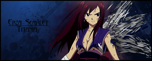 Fairy Tail - Erza Scarlet by Cheesecakezz