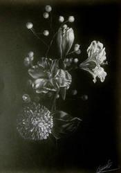 Blossoms in the spotlight by ElzaCircene