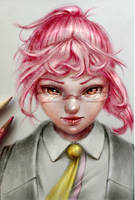 Kobayashi _ by HoneyBunny-Art