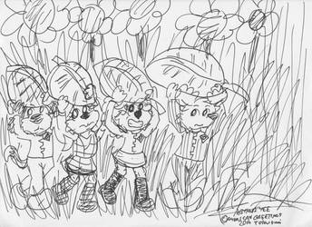 Under The Quivering Leaf by Artytoons