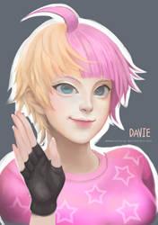 Davie by mikurei26 by chrlorez