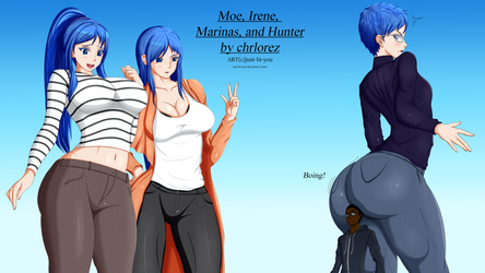 Moe and the Fishers By Just Bi You by chrlorez