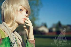 Call Me Model: Kade by IcarusLoveMedley