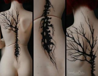 Tattoos: Migidoll Jina by IcarusLoveMedley