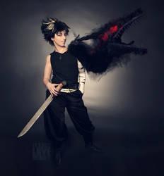 Cosplay: Hiei - Yu Yu Hakusho - Worth the cost by IcarusLoveMedley