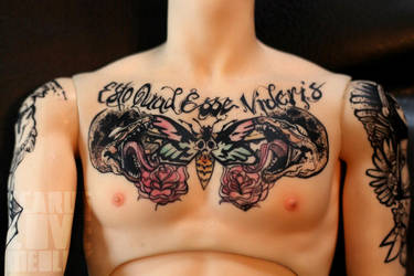 Banshee: Chest Piece by IcarusLoveMedley