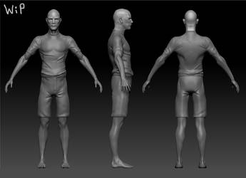 Surfer sculpt by S2uey