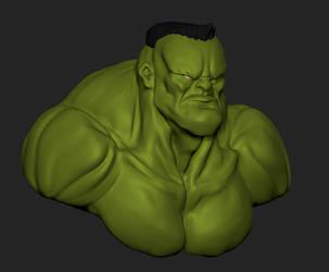 Hulk by S2uey